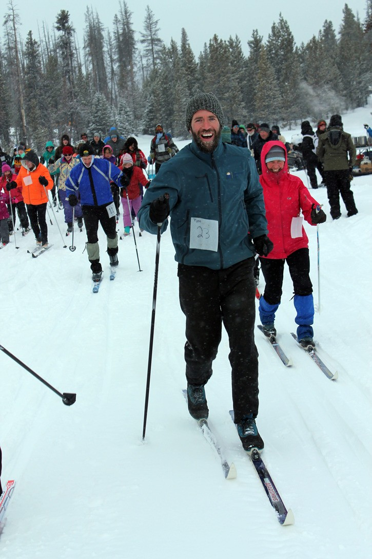 Blowing snow and cold temperatures did not deter racers at the 28th Annual Tweedsmuir Ski Race!