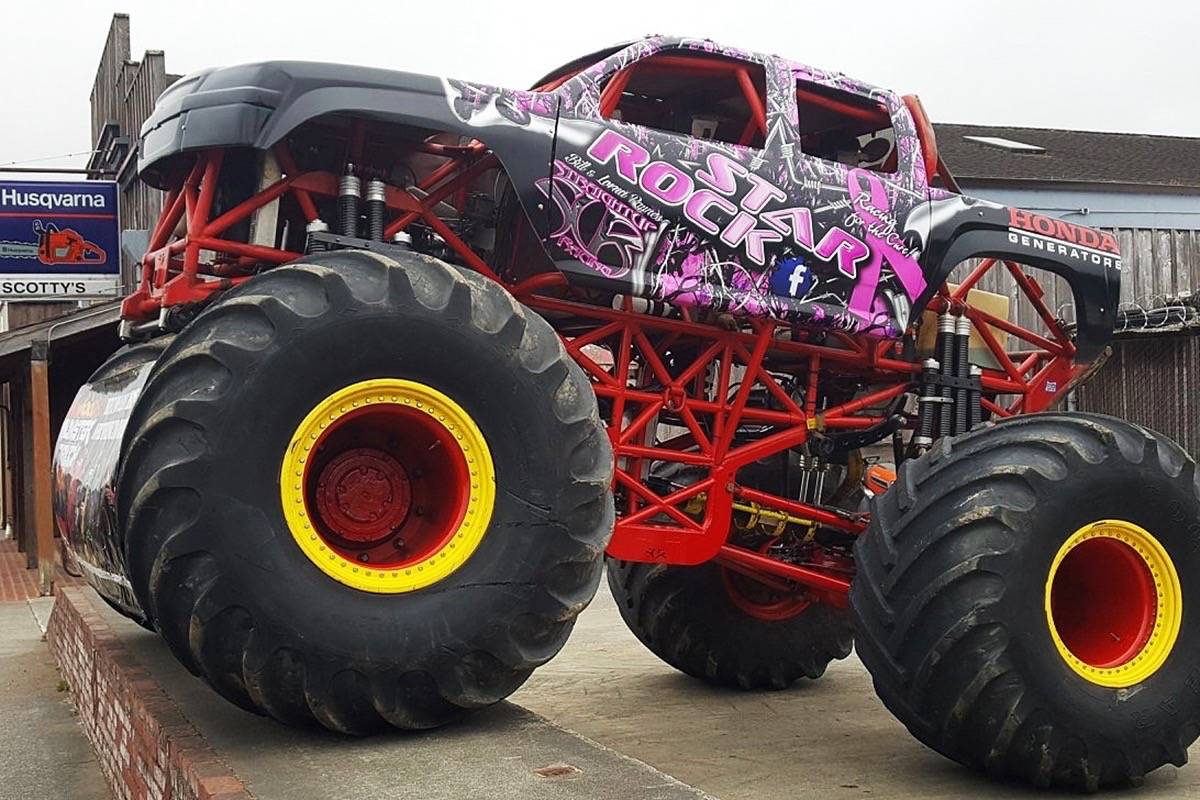 Malicious Monster Truck Tour Coming To Northwest B C This Summer Coast Mountain News