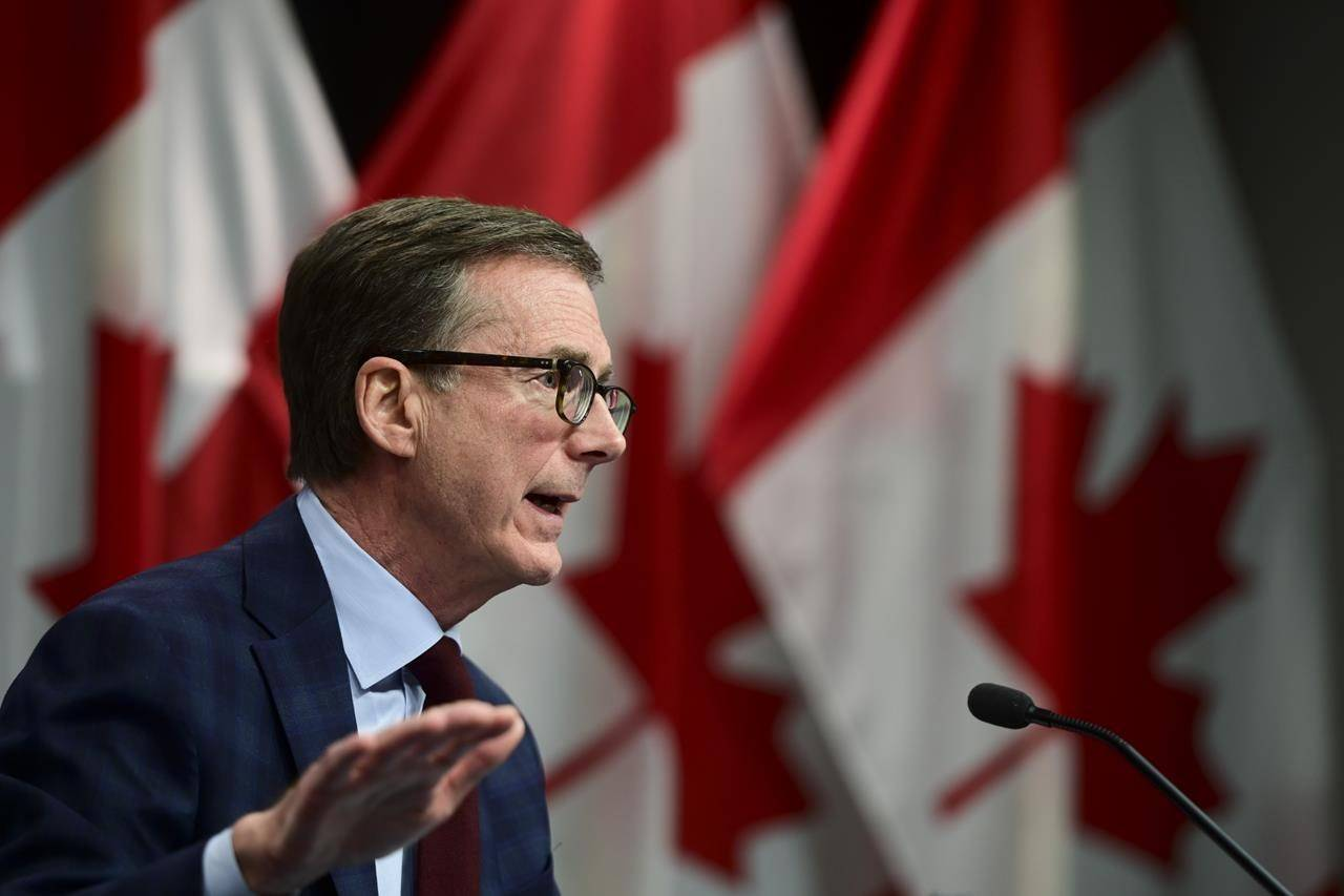Bank of Canada Governor Tiff Macklem takes part in a news conference at the Bank of Canada in Ottawa on Tuesday, Dec. 15, 2020. THE CANADIAN PRESS/Sean Kilpatrick